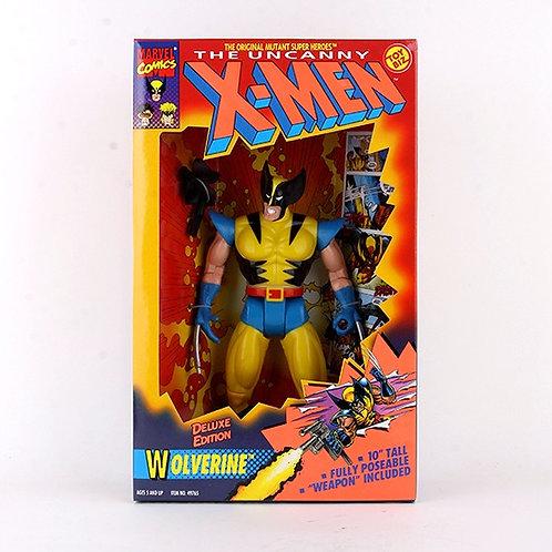 """Wolverine - Classic 1993 Marvel The Uncanny X-Men 10"""" Action Figure - Toy Biz"""
