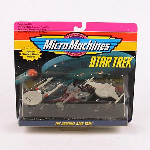 The Original Star Trek - Classic 1993 Micro Machines Vehicles - Galoob