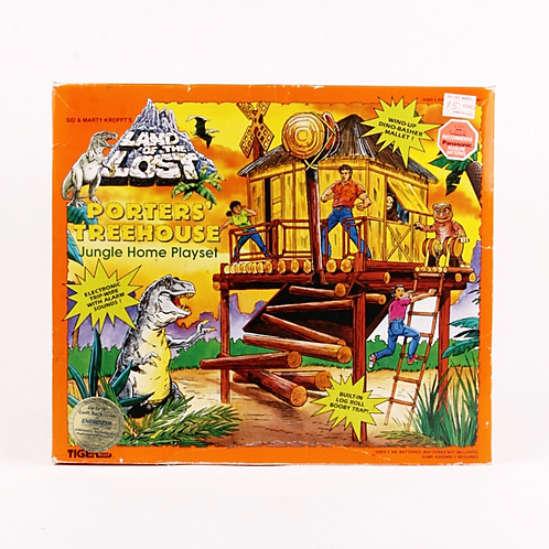 Porters' Treehouse - Classic 1992 Land of the Lost - Jungle Home Playset