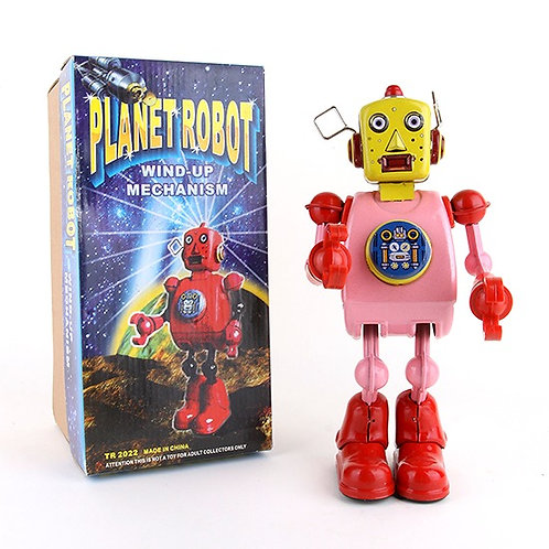 Planet Robot - Classic Windup Tin Toy - Schylling