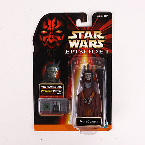 Nute Gunray - Classic 1999 Star Wars The Phantom Menace - Action Figure