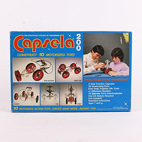 Capsela 200 - Vintage 1978 Motorized Toy - Play Jour