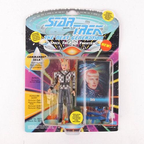 Commander Sela - Classic 1993 Star Trek The Next Generation - Playmates