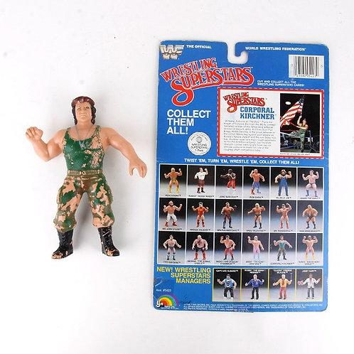 Corporal Kirchner - Vintage 1985 WWF Wrestling Superstars - Ljn Toys