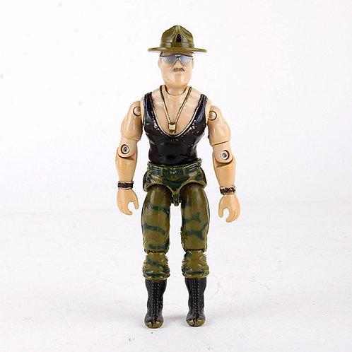 Sgt. Slaughter - Vintage 1986 G.I. Joe Action Figure - Hasbro
