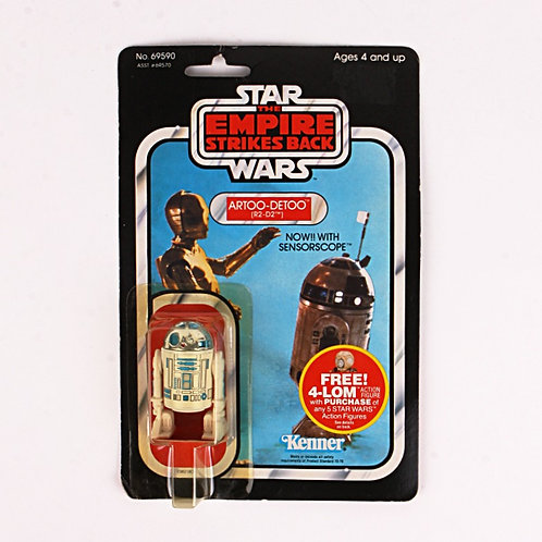 Artoo-Detoo R2-D2 Vintage 1982 Star Wars The Empire Strikes Back - Action Figure