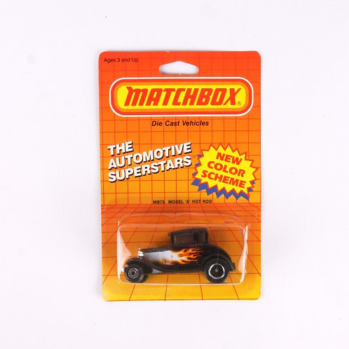 "Model ""A"" Hot Rod #73 - Vintage 1986 Matchbox - Die Cast Vehicle"