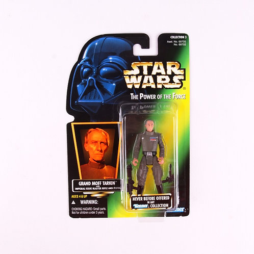Grand Moff Tarkin - Classic 1996 Star Wars Power of the Force - Action Figure