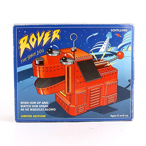 Rover The Space Dog - Classic Windup Tin Toy - Schylling