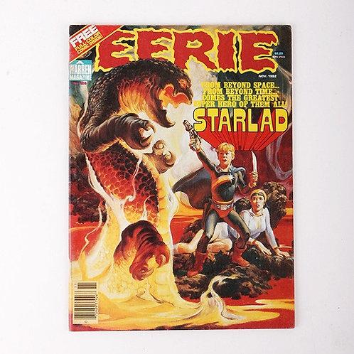 Eerie Magazine - Vintage Nov 1982 #136 - Starlad