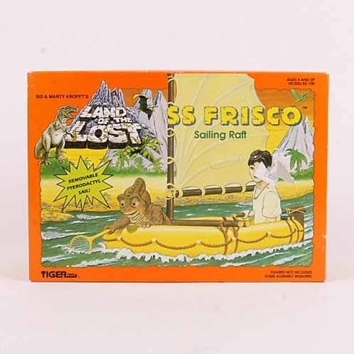 SS Frisco Sailing Raft - Classic 1992 Land of the Lost - Action Figure Vehicle