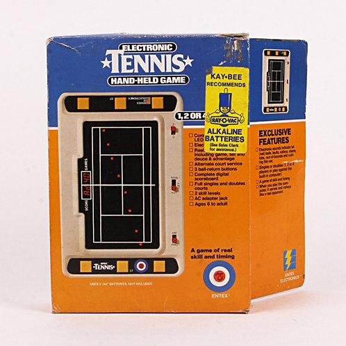 Tennis - Vintage 1980 Handheld Electronic Sports Game - Entex