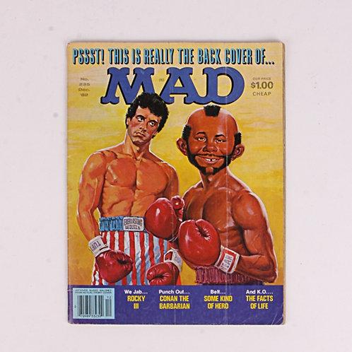 Mad Magazine - Vintage Dec 1982 # 235 - Rocky III - Conan the Barbarian