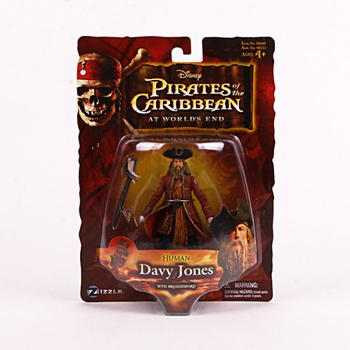 Human Davy Jones - Modern 2007 Pirates of the Caribbean - Action Figure - Zizzle