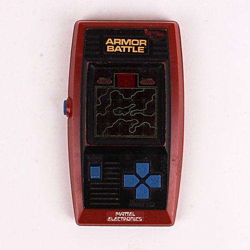 Armor Battle - Vintage 1978 Electronic Handheld Arcade Game - Mattel