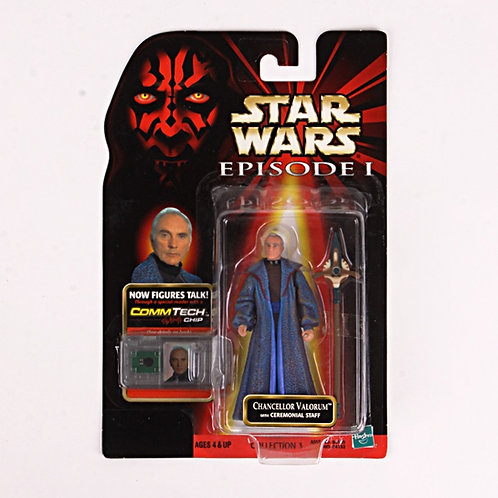 Chancellor Valorum - Classic 1998 Star Wars The Phantom Menace - Action Figure