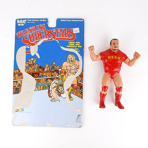 Nikolai Volkoff - Vintage 1985 WWF Wrestling Superstars Action Figure - Ljn Toys