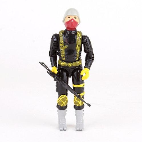 Python Patrol Officer - Vintage 1989 G.I. Joe Action Figure - Hasbro