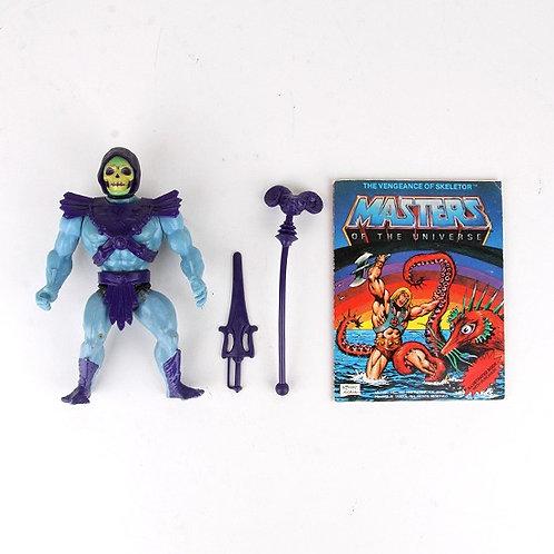 Skeletor - Vintage 1982 Masters of the Universe - Action Figure - Mattel