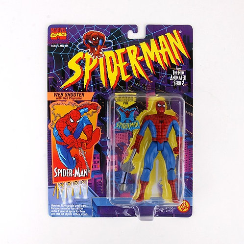 Spider-Man - 1994 Animated Series Marvel Action Figure - Toy Biz