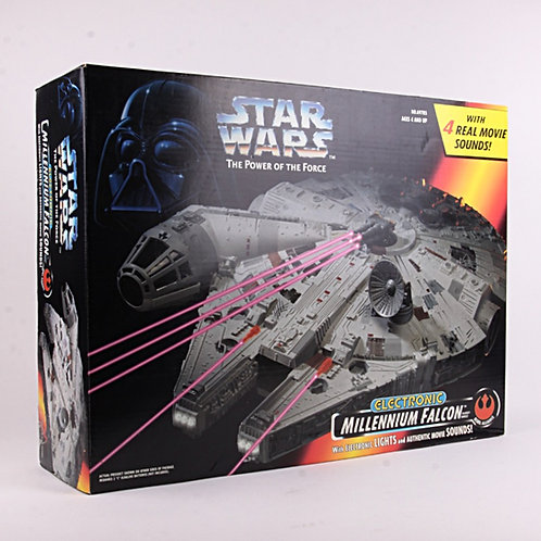 Millennium Falcon - Classic 1995 Star Wars Power of the Force - Vehicle