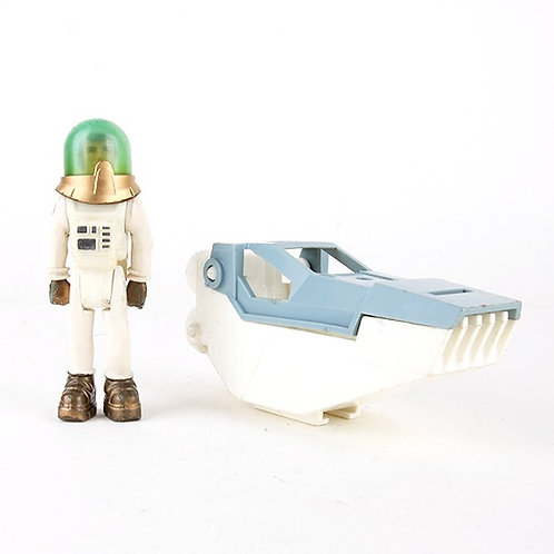 Male Astronaut & Pod - Vintage 1979 Adventure People Action Figure Fisher Price