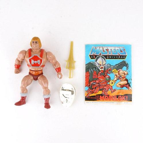 He-Man - Vintage 1985 Masters of the Universe - Action Figure - Mattel