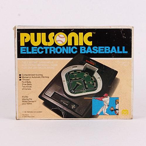 Pulsonic Baseball - Vintage 1978 Handheld Electronic Sports Game - Mego