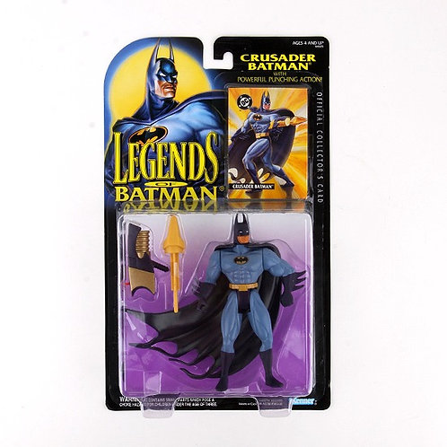Crusader Batman - Classic 1994 Legends of Batman Action Figure - Kenner