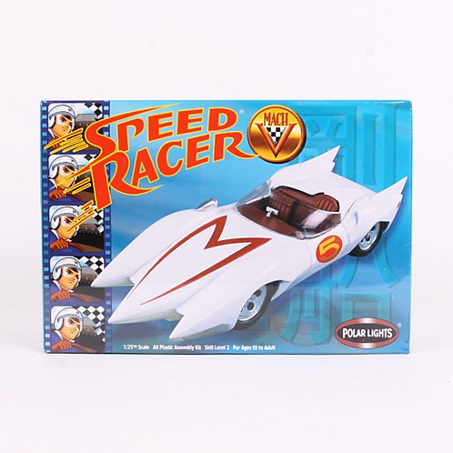 Speed Racer Mach V - Modern 2000 Plastic Model Kit - Polar Lights
