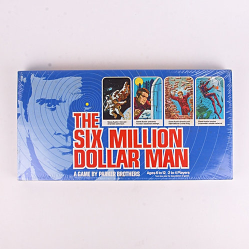 The Six Million Dollar Man - Vintage 1975 Board Game - Parker Brothers