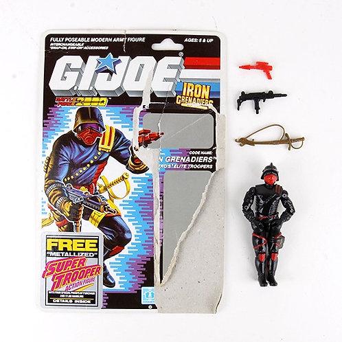Iron Grenadiers - Vintage 1988 G.I. Joe Battle Force 2000 Action Figure - Hasbro