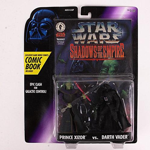 Prince Xizor vs Darth Vader - Star Wars Shadows of the Empire - Action Figure