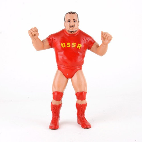 Nikolai Volkoff - Vintage 1985 WWF Wrestling Superstars Action Figure - Ljn Toys