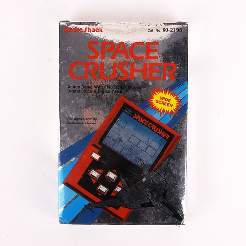 Space Crusher - Vintage 1985 Electronic Game & Clock - Radio Shack