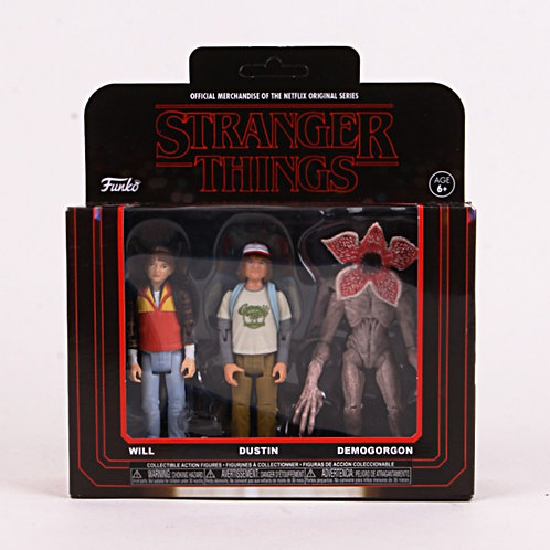 Will & Dustin & Demogorgon - Modern  2018 Stranger Things - Funko Action Figure