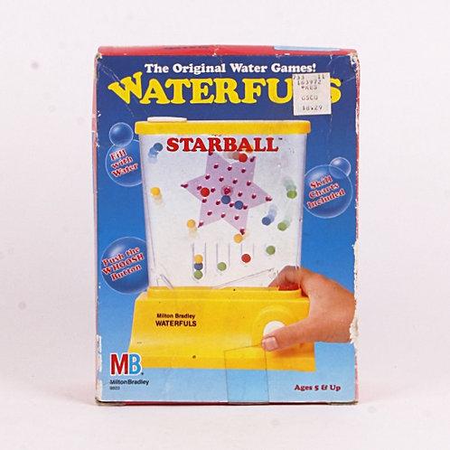 Starball - Vintage 1987 Waterfuls Game - Milton Bradley
