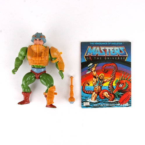 Man-At-Arms - Vintage 1982 Masters of the Universe - Action Figure - Mattel