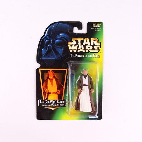 Ben (Obi-Wan) Kenobi - Classic 1997 Star Wars Power of the Force - Action Figure
