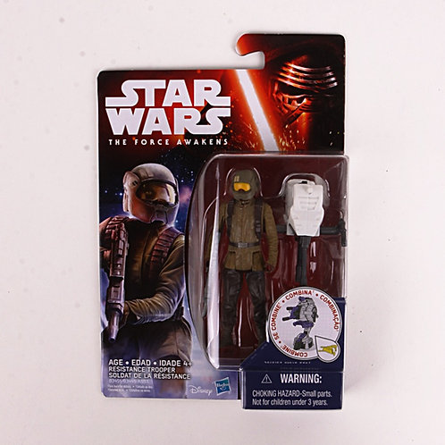 Resistance Trooper - Modern 2015 Star Wars The Force Awakens - Action Figure