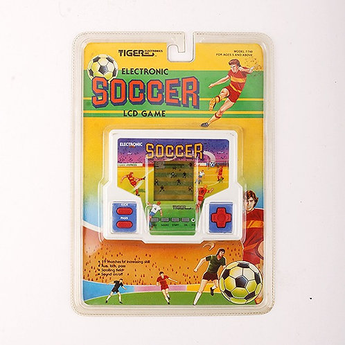 Soccer - Classic 1989 Electronic Handheld Sports Game - Tiger Electronics