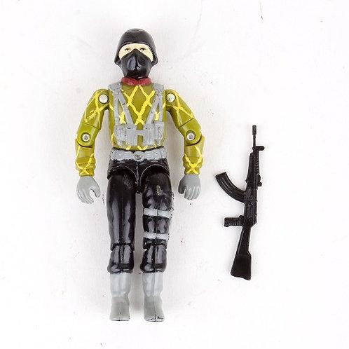 Python Trooper - Vintage 1989 G.I. Joe Python Patrol Action Figure - Hasbro