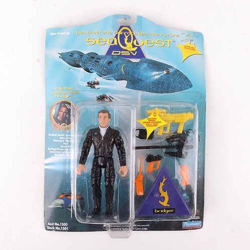 Captain Nathan Hale Bridger - Classic 1993 Sea Quest DSV - Playmates