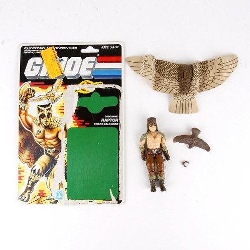 Raptor - Vintage 1987 G.I. Joe Action Figure - Hasbro