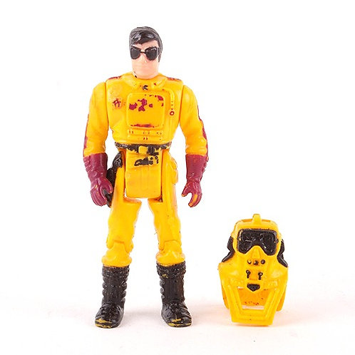 Brad Turner - Vintage 1986 M.A.S.K. Action Figure - Kenner