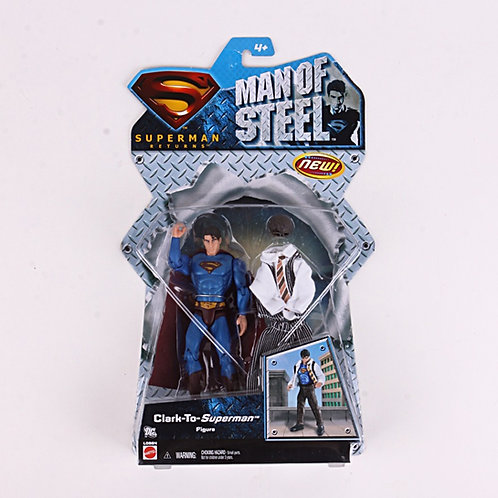 Man of Steel - Modern 2007 Superman Returns - Action Figure - Mattel / DC