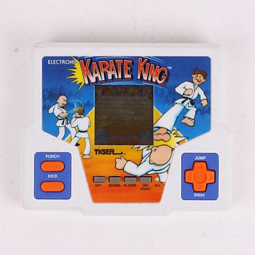 Karate King - Vintage 1987 Electronic Handheld Arcade Game - Tiger