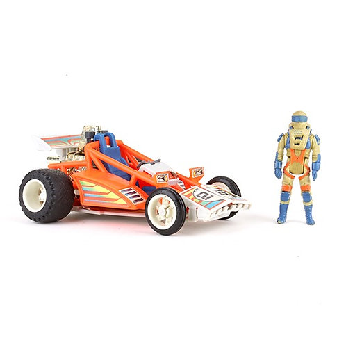Firefly & Julio Lopez - Vintage 1986 M.A.S.K. Vehicle & Action Figure - Kenner