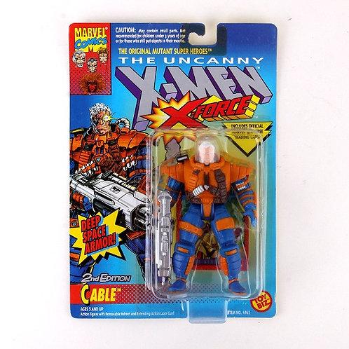Cable - Classic 1993 Marvel The Uncanny X-Men X-Force Action Figure - Toy Biz