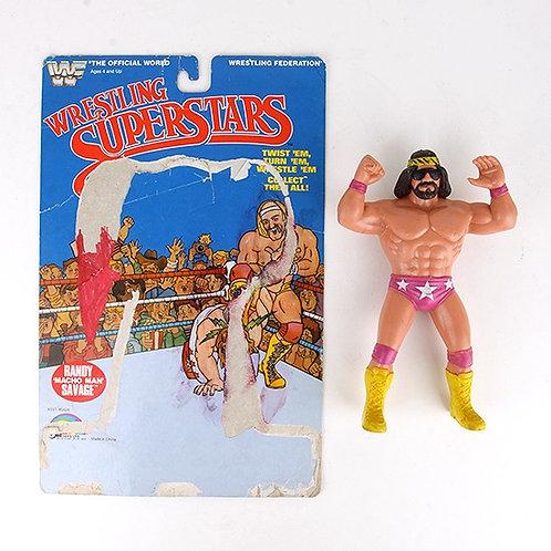 Randy Savage - Vintage 1985 WWF Wrestling Superstars Action Figure - Ljn Toys